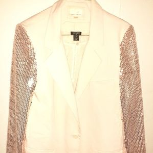 Sequin sleeve Party Blazer